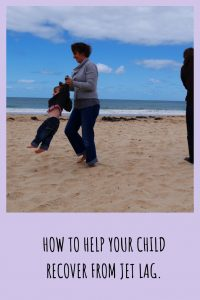 helping children recover from jet lag