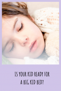 Is your child ready for the big kid bed transition? Find out the factors you should consider before taking the plunge.