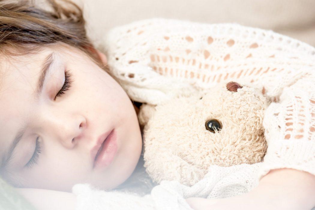 sleeping kids