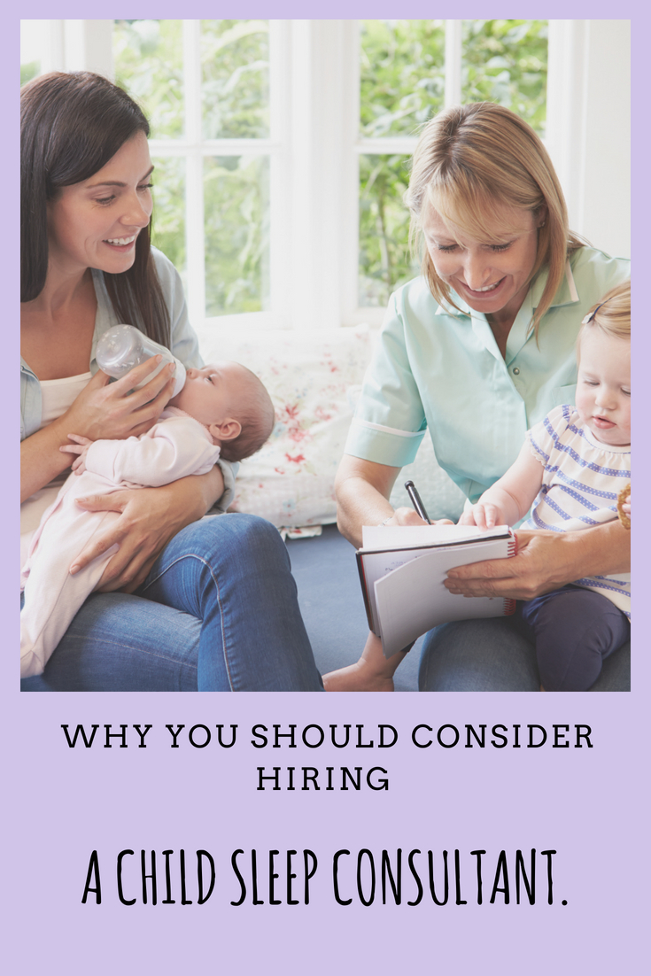 why hire a sleep consultant