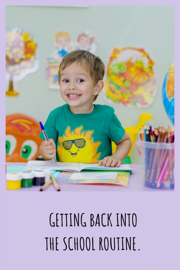 During the summer months sleep and everyday routines become lax.  3 weeks before school starts this sleep consultant suggests gradually easing back into the school routines - both with sleep and other routines as well.