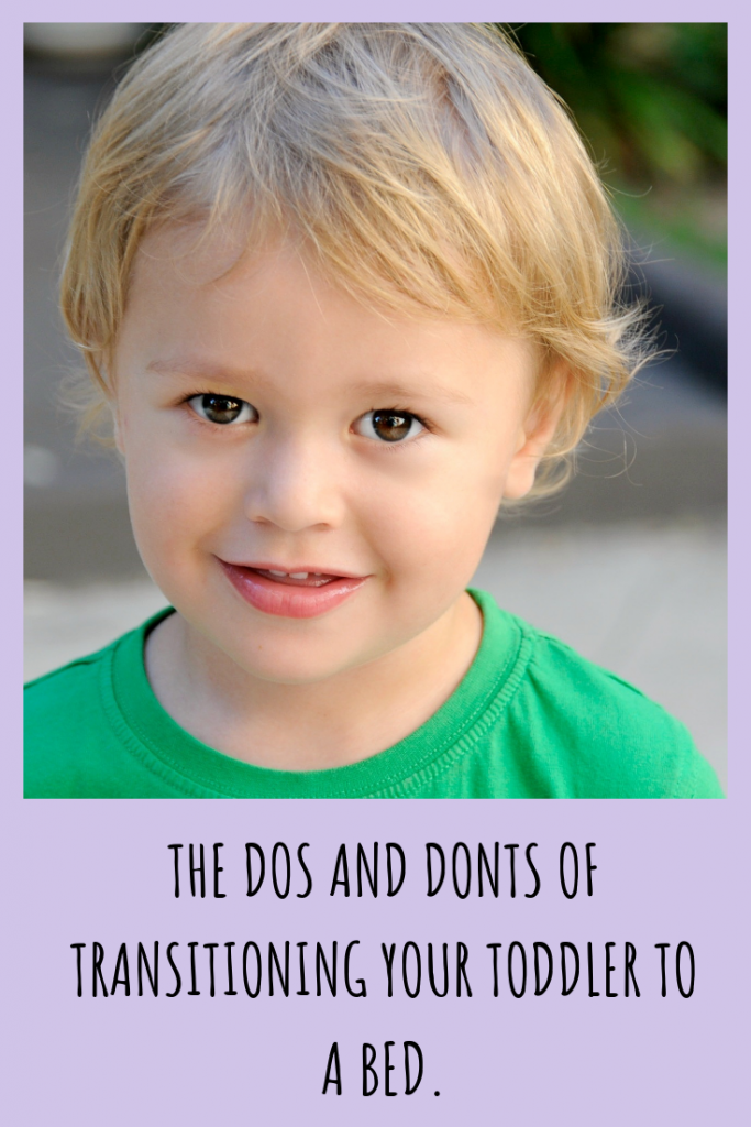 Transitioning to a toddler bed is a BIG move and should be done with careful planning.  Learn all the dos and donts of transitioning to a big kid bed.