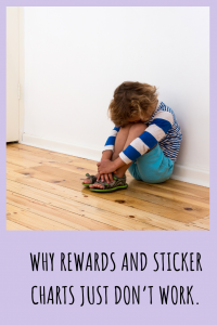 Rewards and sticker charts are popular parenting tools, but the truth is, they just don't work for encouraging lasting changes in a child's behavior.