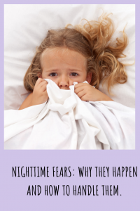 Nighttime fears are common in toddlers and young kids. There are things you can do to address the fears, so that sleep times don't become an ongoing battle.